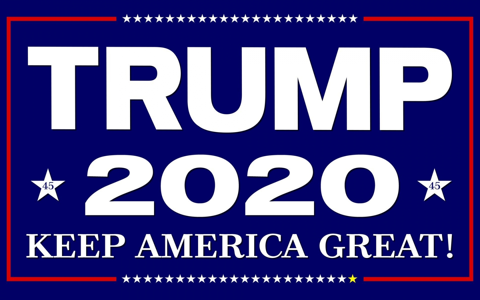 download 16x10 trump2020swag [2000x1200] for your Desktop 1680x1050