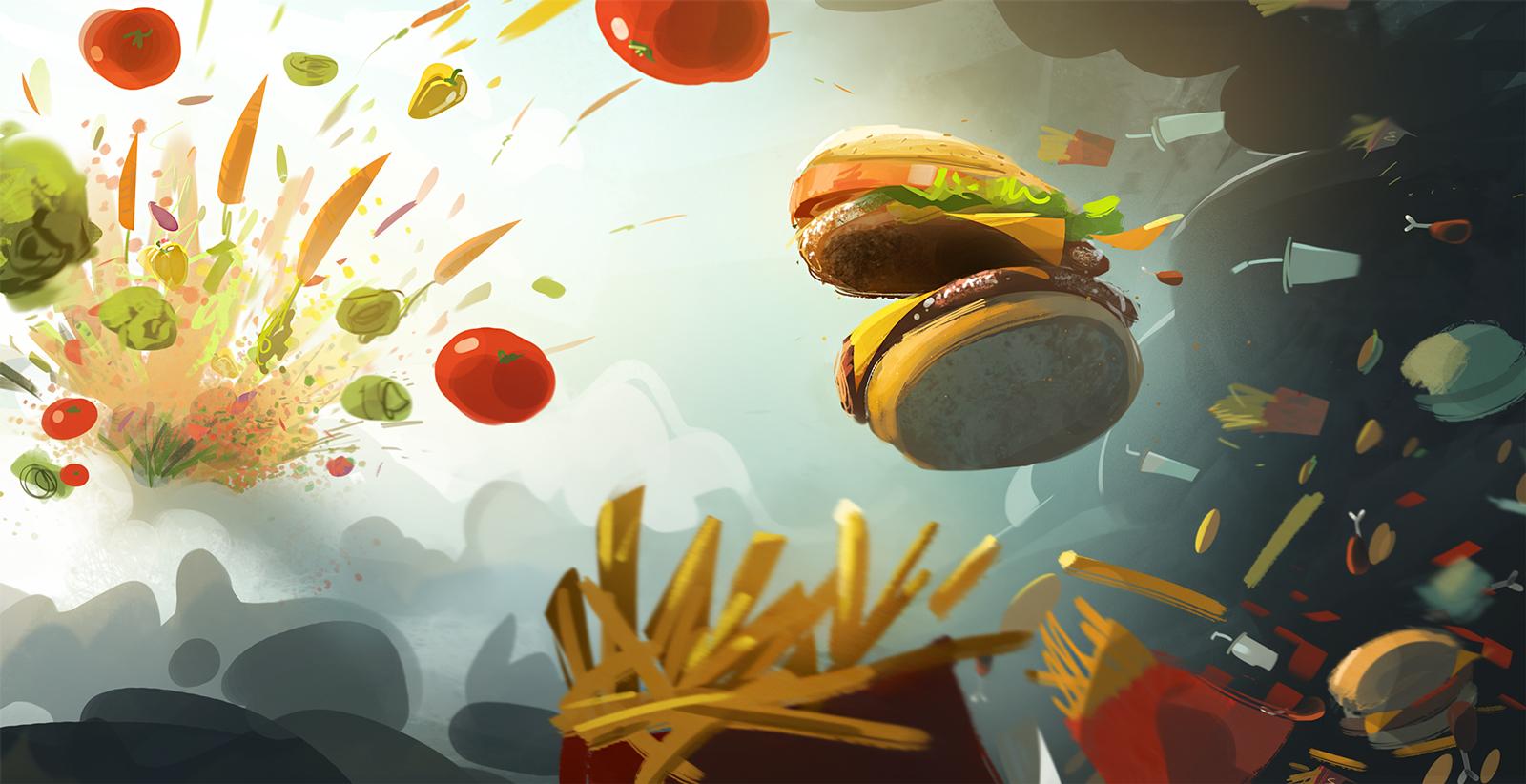 Fast Food Computer Wallpapers Desktop Backgrounds 1600x822