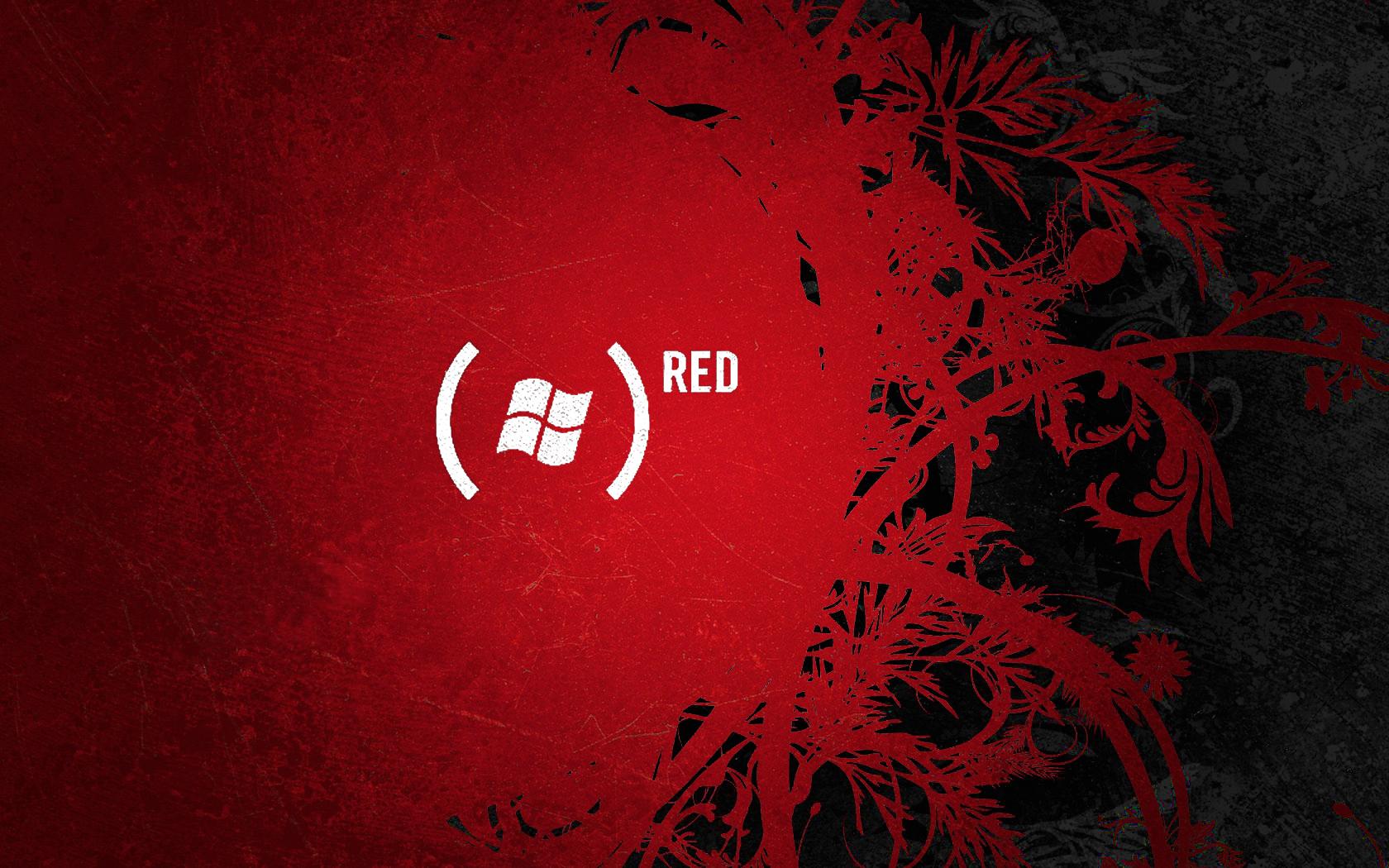 Windows Red Wallpaper WallpaperSafari
