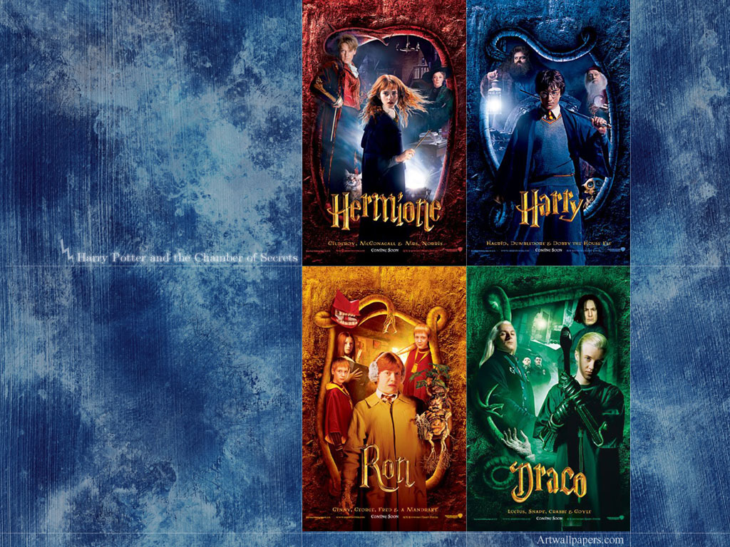 Harry Potter and the Chamber of Secrets Wallpapers 1024x768
