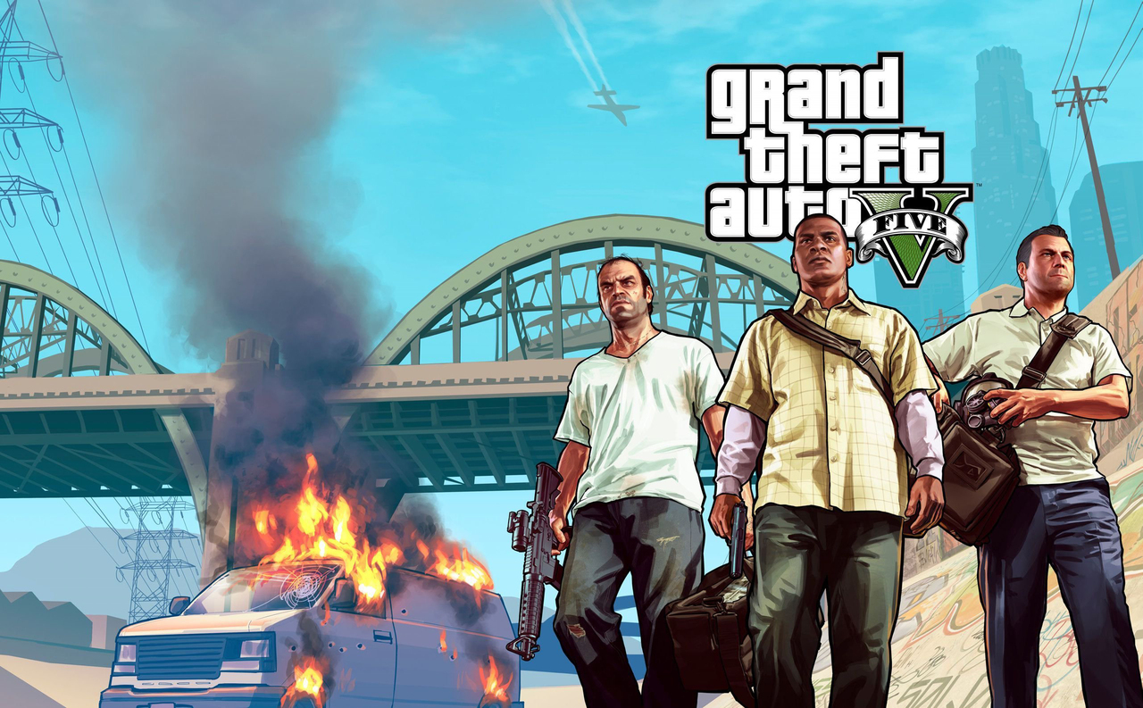 grand theft auto 5 hd desktop wallpaper and best backgrounds 1280x793