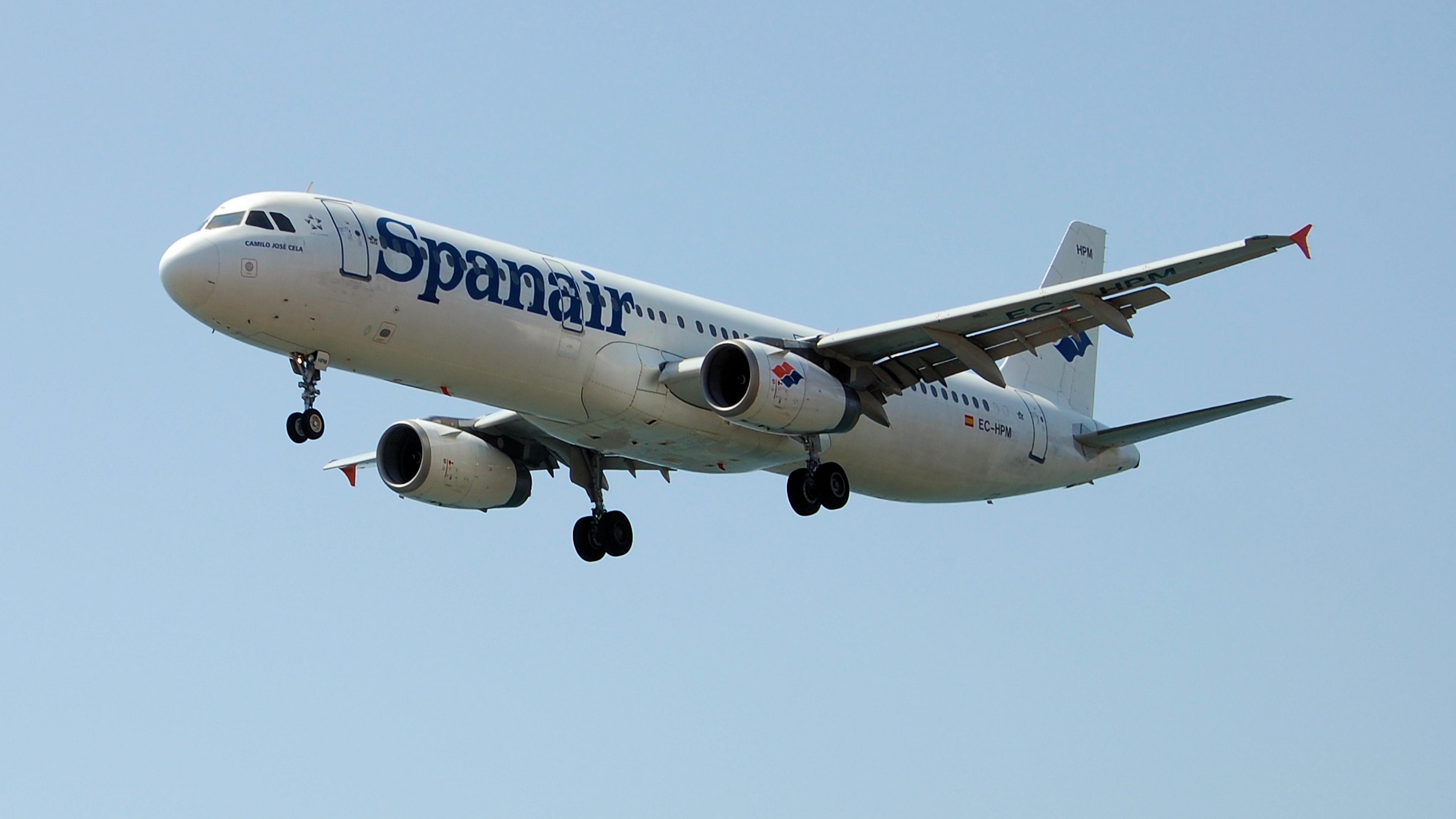 Spanair Airbus A321 231   EC HPM 4k Ultra HD Wallpaper 3840x2160