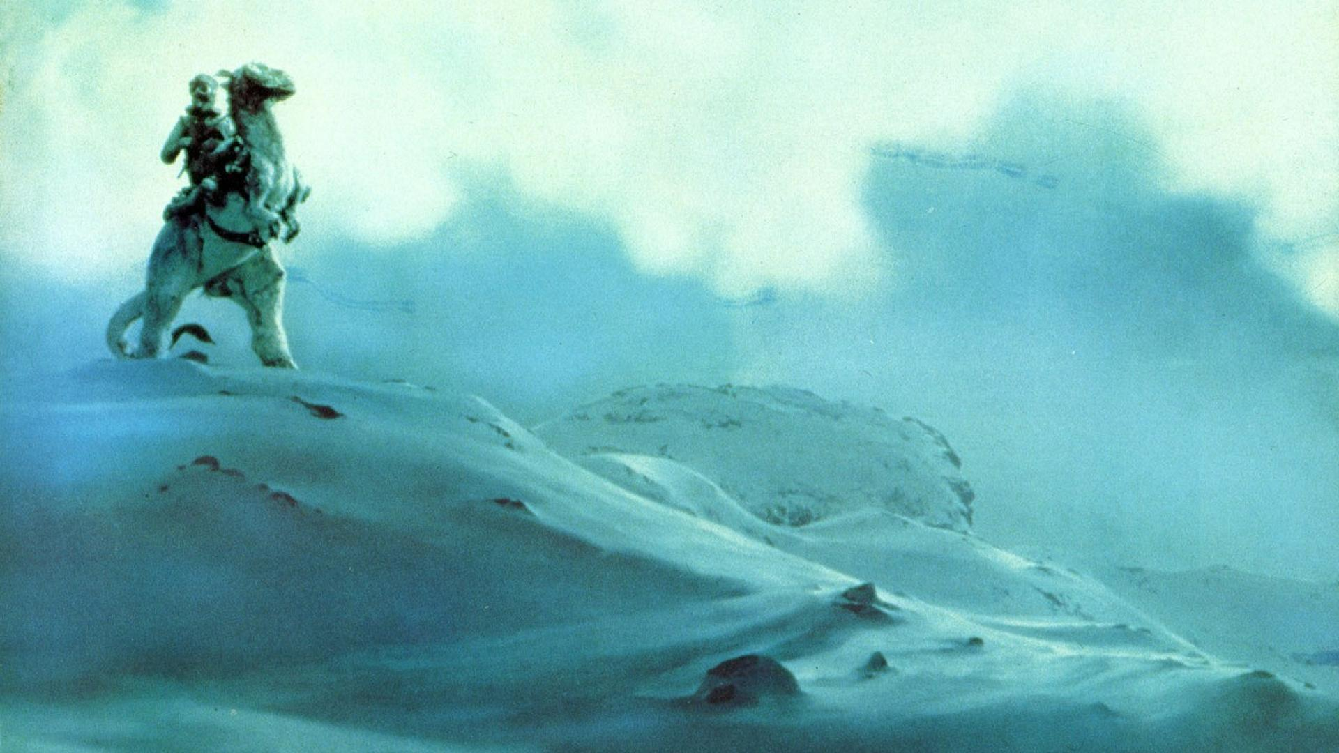 Hoth luke skywalker star wars landscapes movies wallpaper 60561 1920x1080