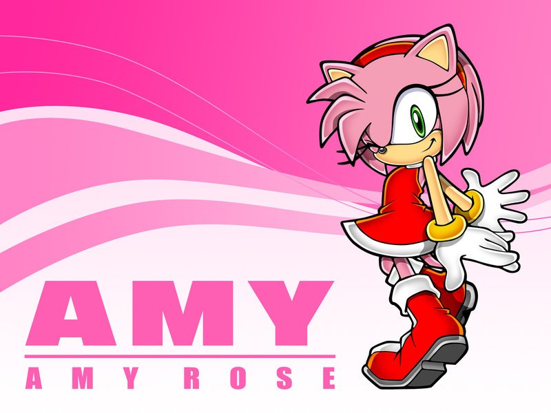 Sonic and Amy Wallpapers - WallpaperSafari