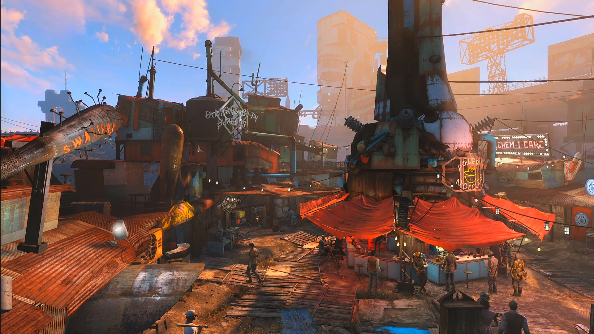 Diamond City Surplus SugarBombed Wikia FANDOM powered by Wikia 1920x1080