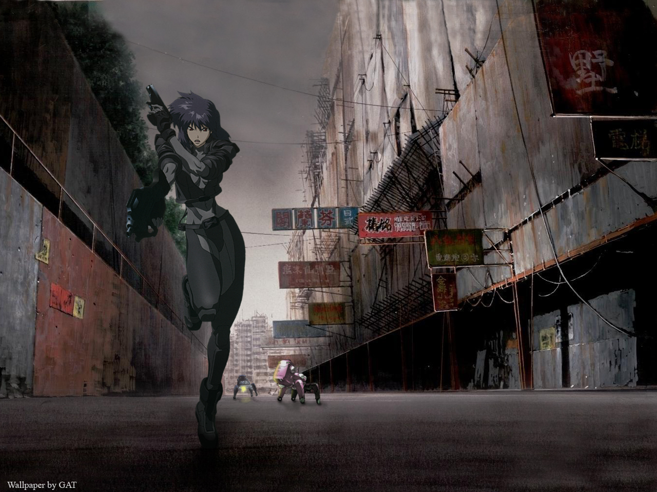Free Download Ghost In The Shell Wallpaper Ghost In The Shell
