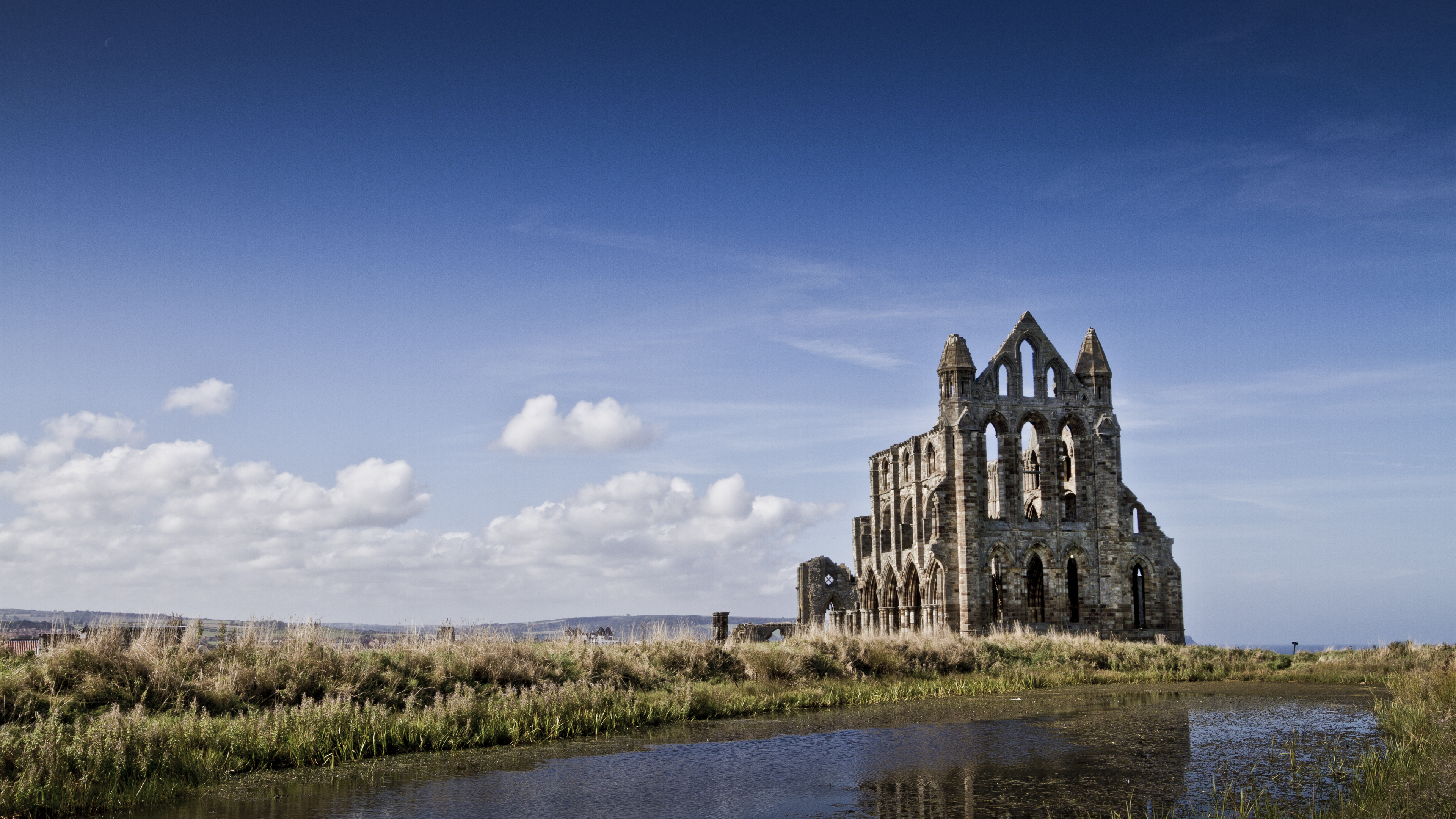 Whitby Abbey 4K 3840x2160 fc05deviantartnet 3840x2160