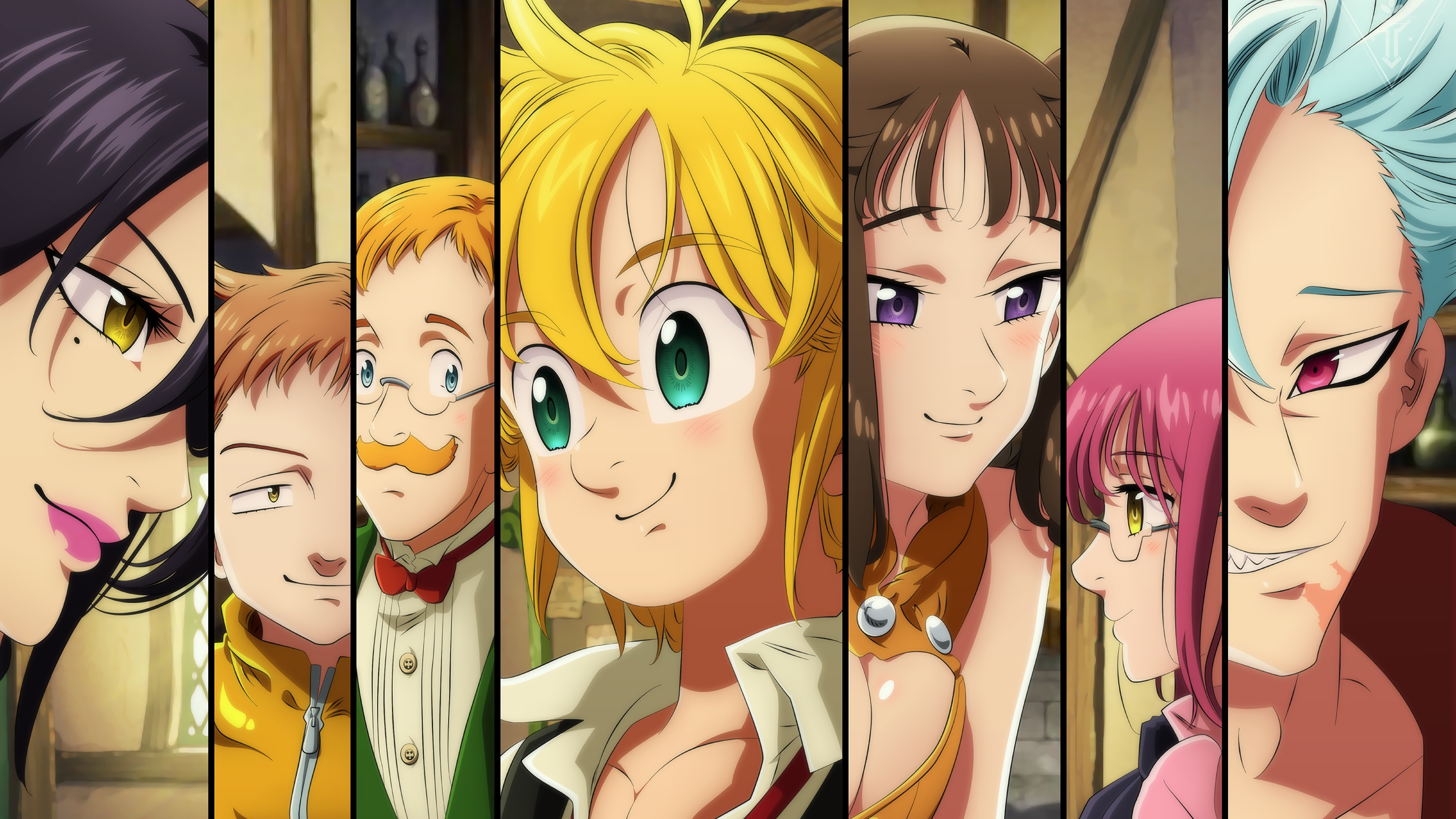Free Download The Seven Deadly Sins 4k Ultra Hd Wallpaper