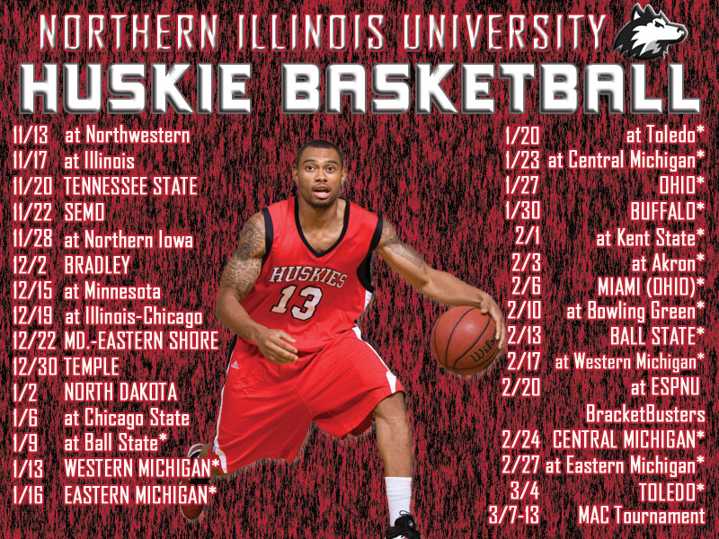 NIUHUSKIESCOM   The Northern Illinois Official Athletic Site   Mens 800x600