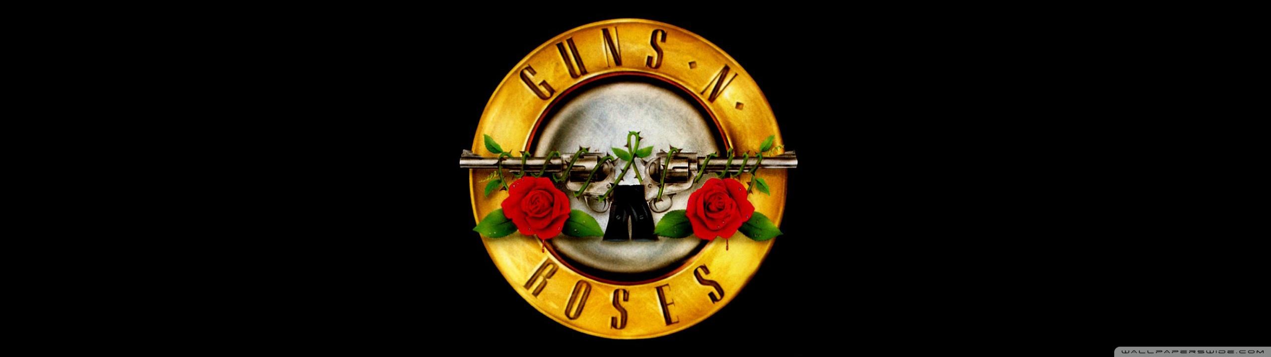 Guns n Roses Logo HD HD desktop wallpaper Widescreen 2560x720