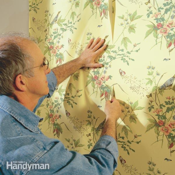 pre pasted wallpaper 2015   Grasscloth Wallpaper 600x600