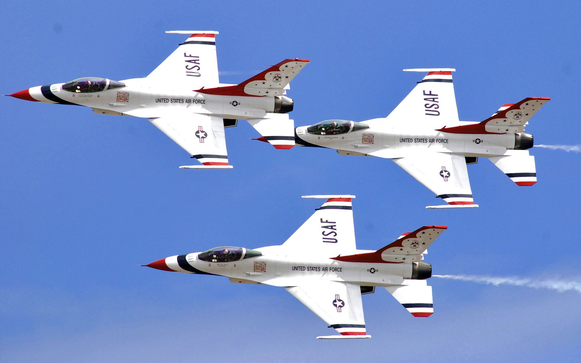 USAF Thunderbirds AircraftRecognitioncouk 1920x1200