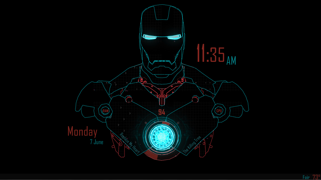 screensaver jarvis iron man - photo #12