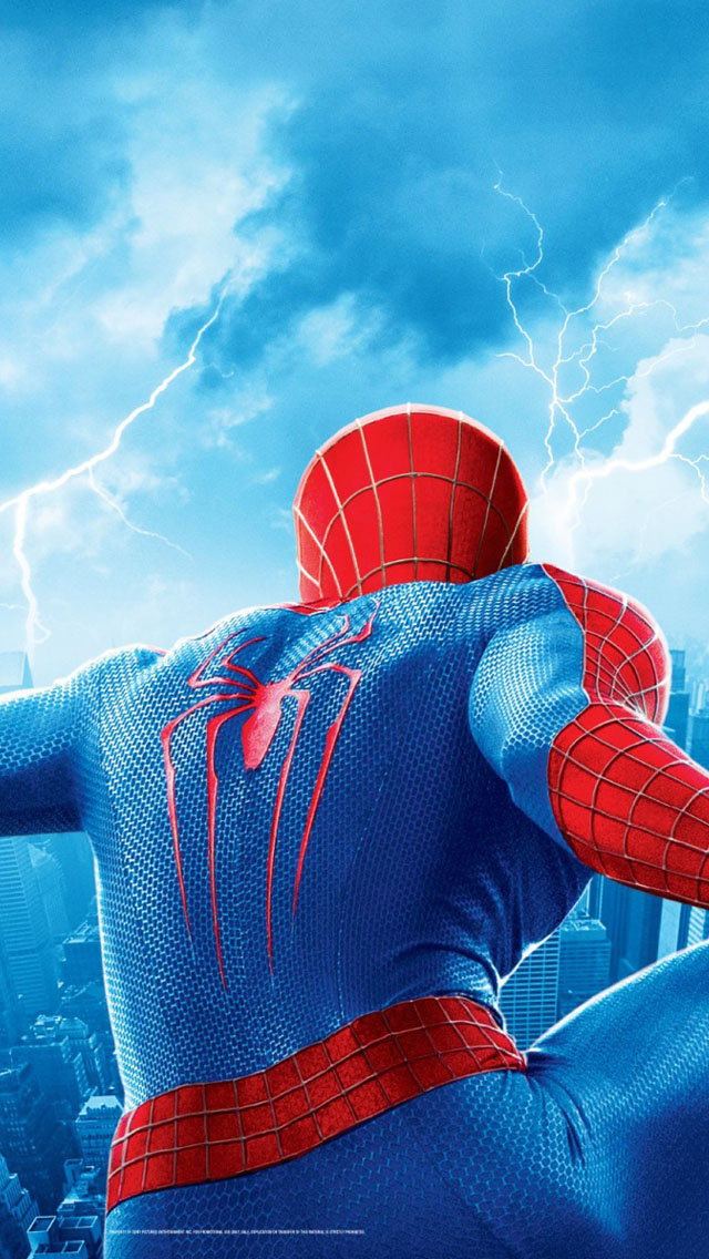 The Amazing Spider Man 2 iPhone 5 iPhone 5s iPhone 5C Wallpaper 640x1136