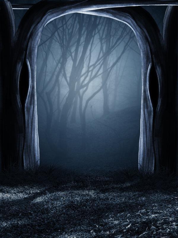Creepy forest wallpaper wallpapersafari - Dark horror creepy wallpapers ...