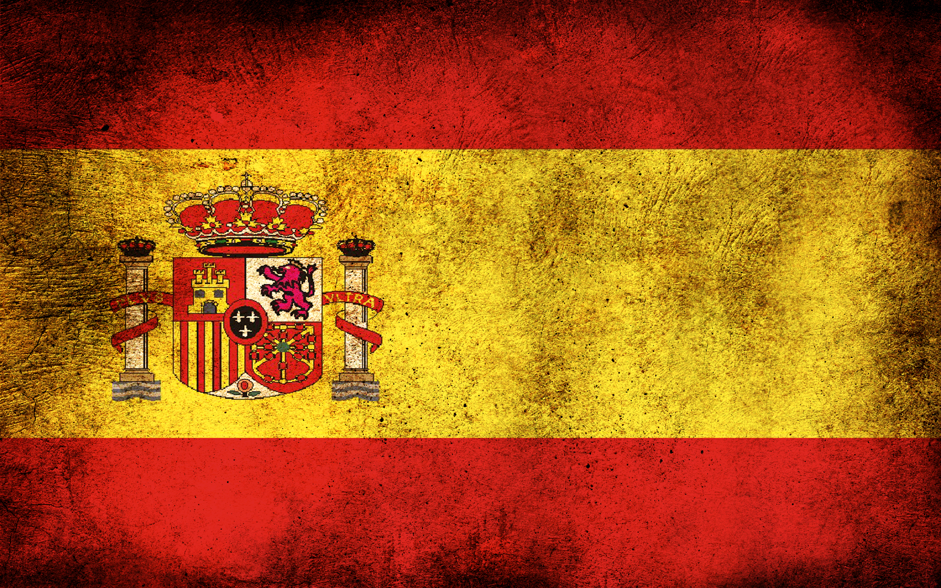 Dirty Spain Flag HD Wallpaper 422 1920x1200