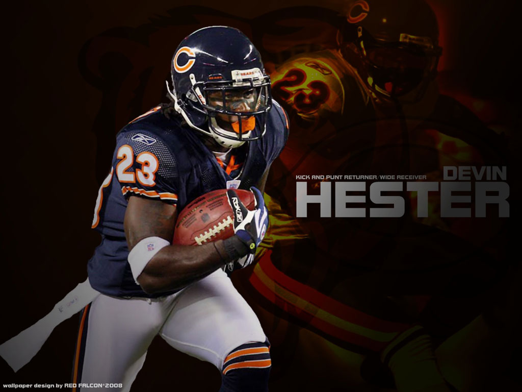 Chicago Bears   Devin Hester 23 wallpapers 1024x768