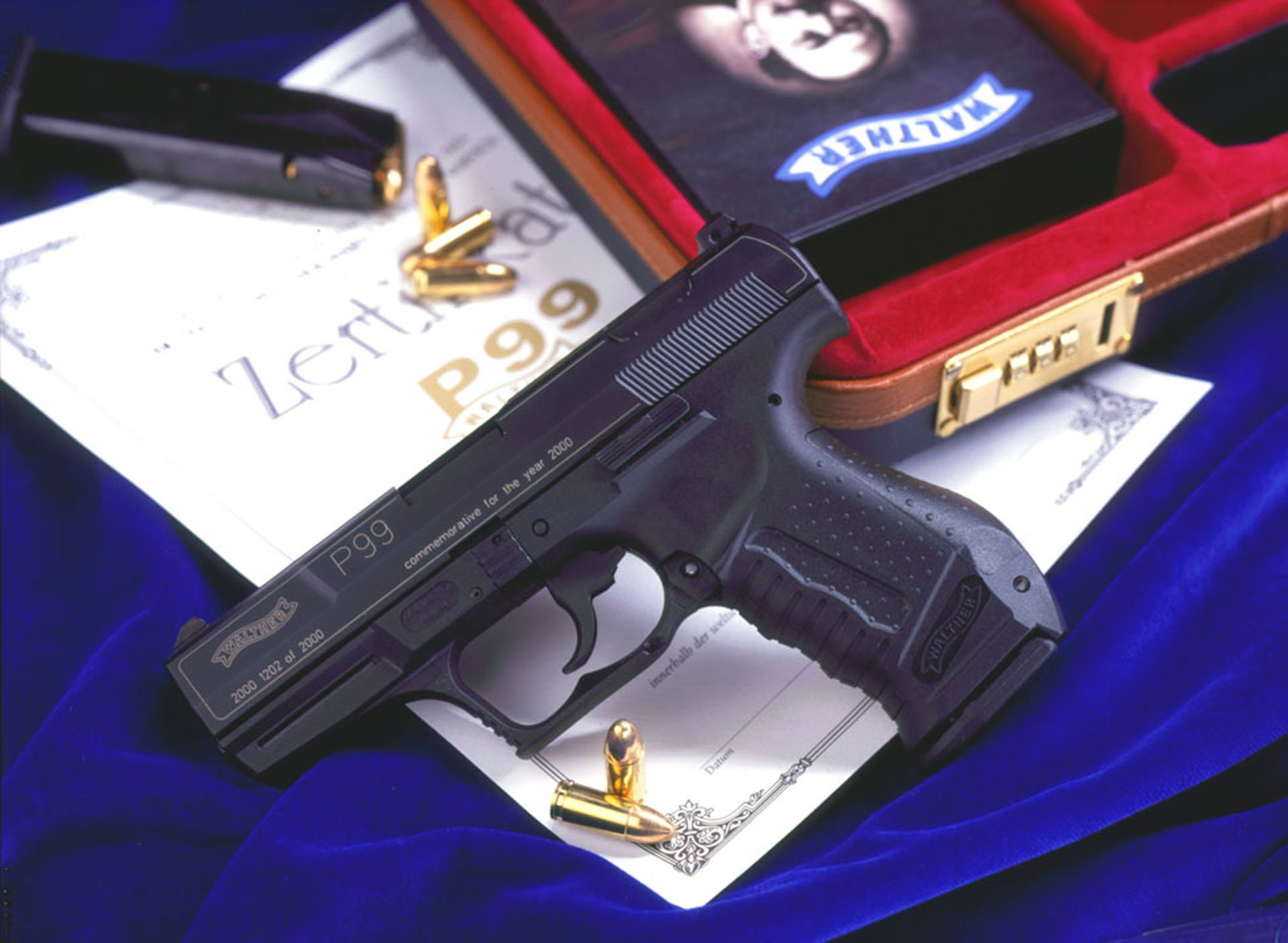 Walther P99 Pistol HD Wallpaper Background Image 1920x1406 1920x1406