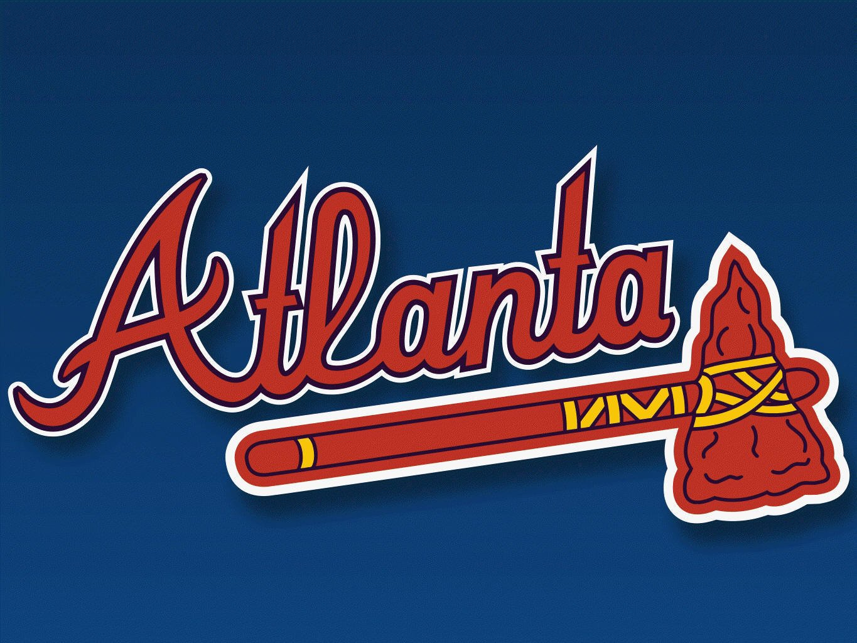 Atlanta Braves Logo Wallpaper - WallpaperSafari