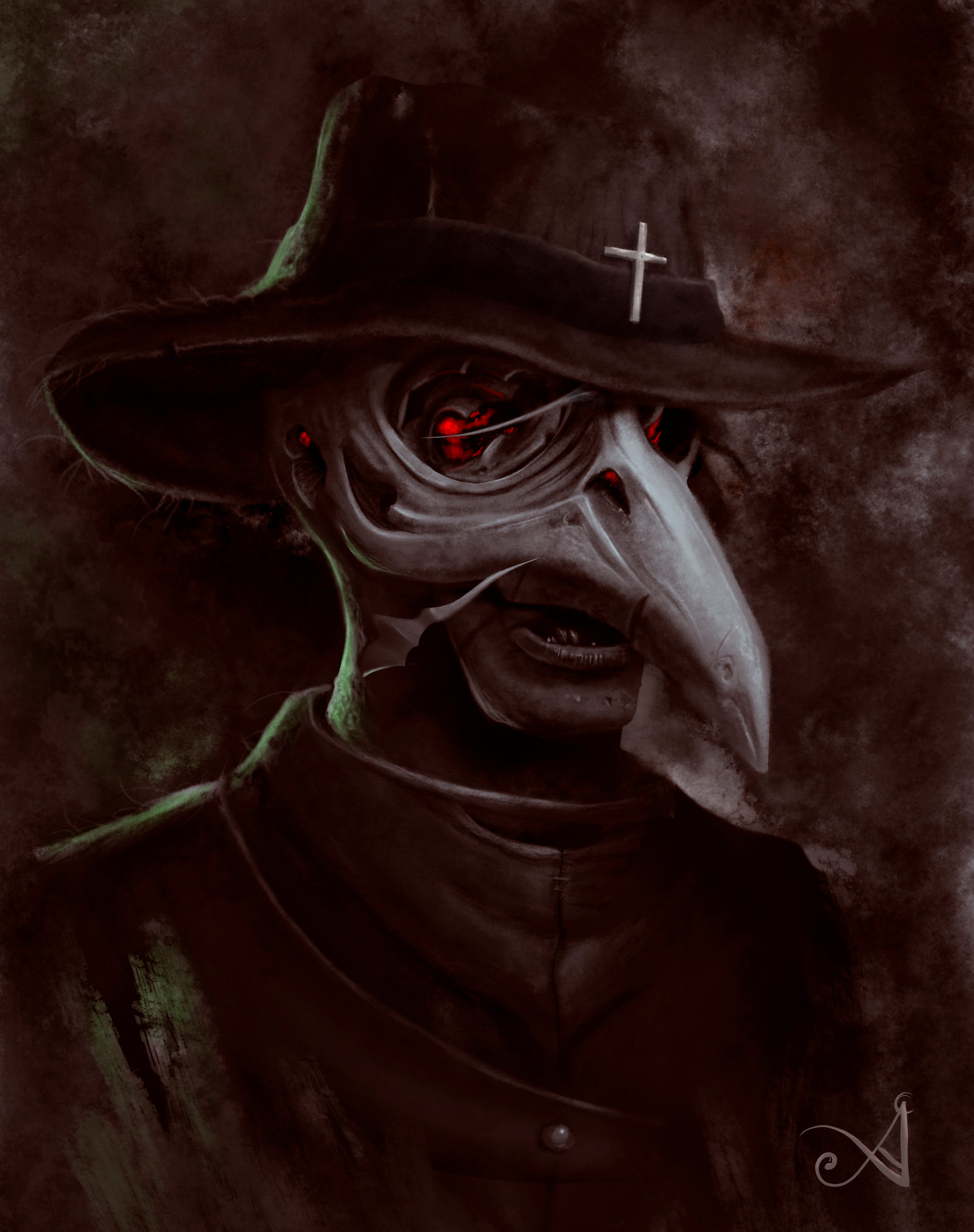 Plague Doctor by ACrowley 1600x2023