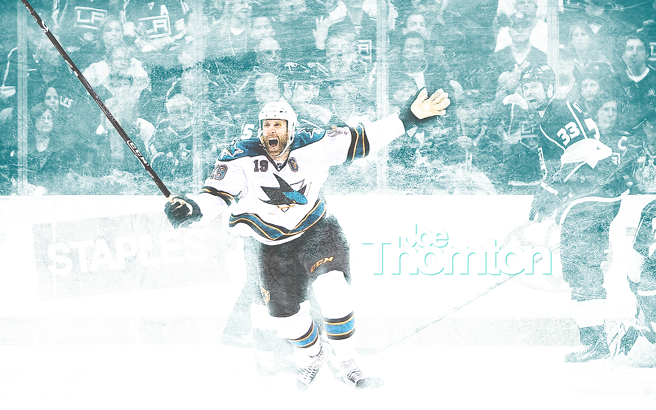 Joe Thornton Wallpaper by XxBMW85xX 1280x800