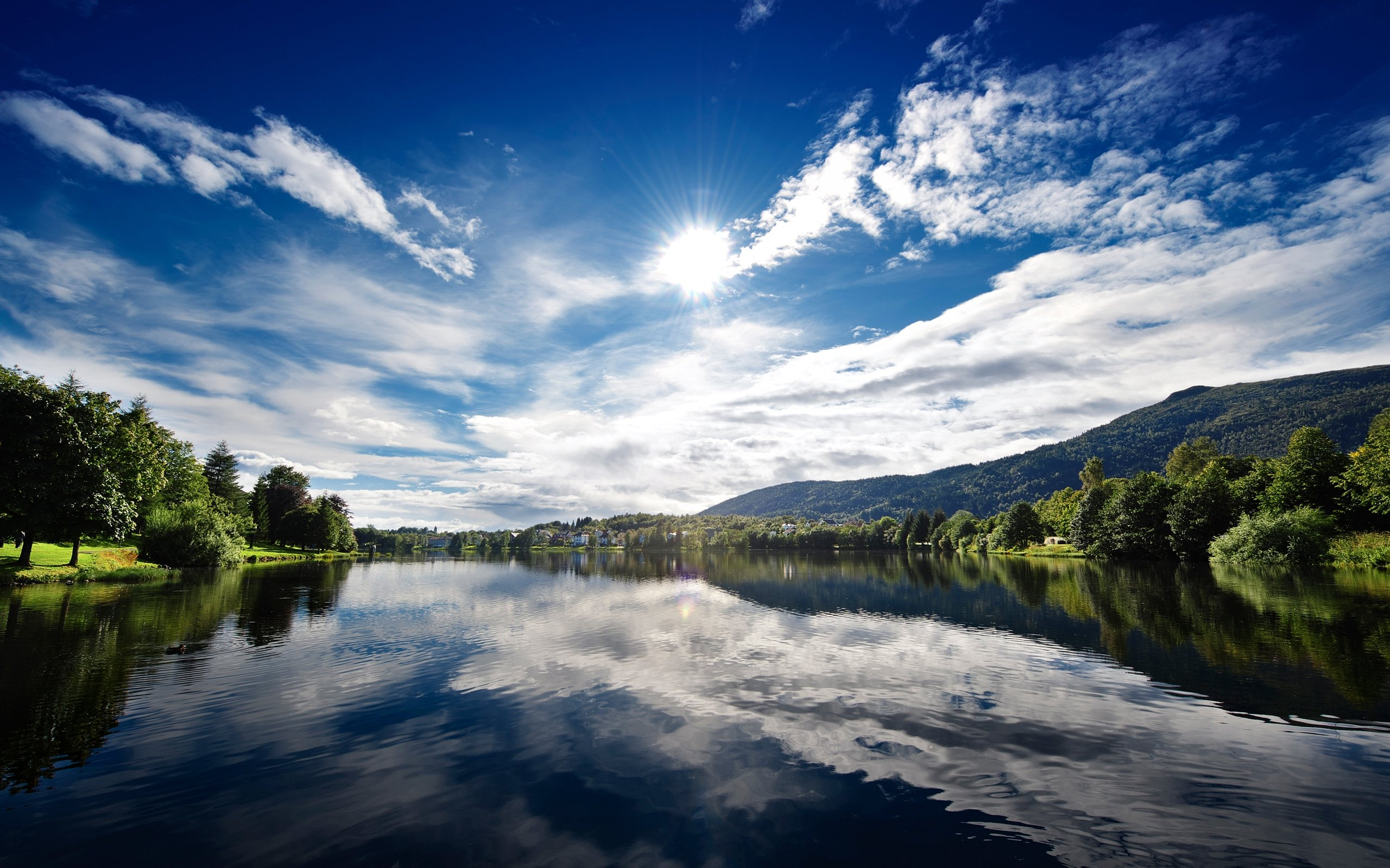 Sunny Lake Wallpapers | HD Wallpapers