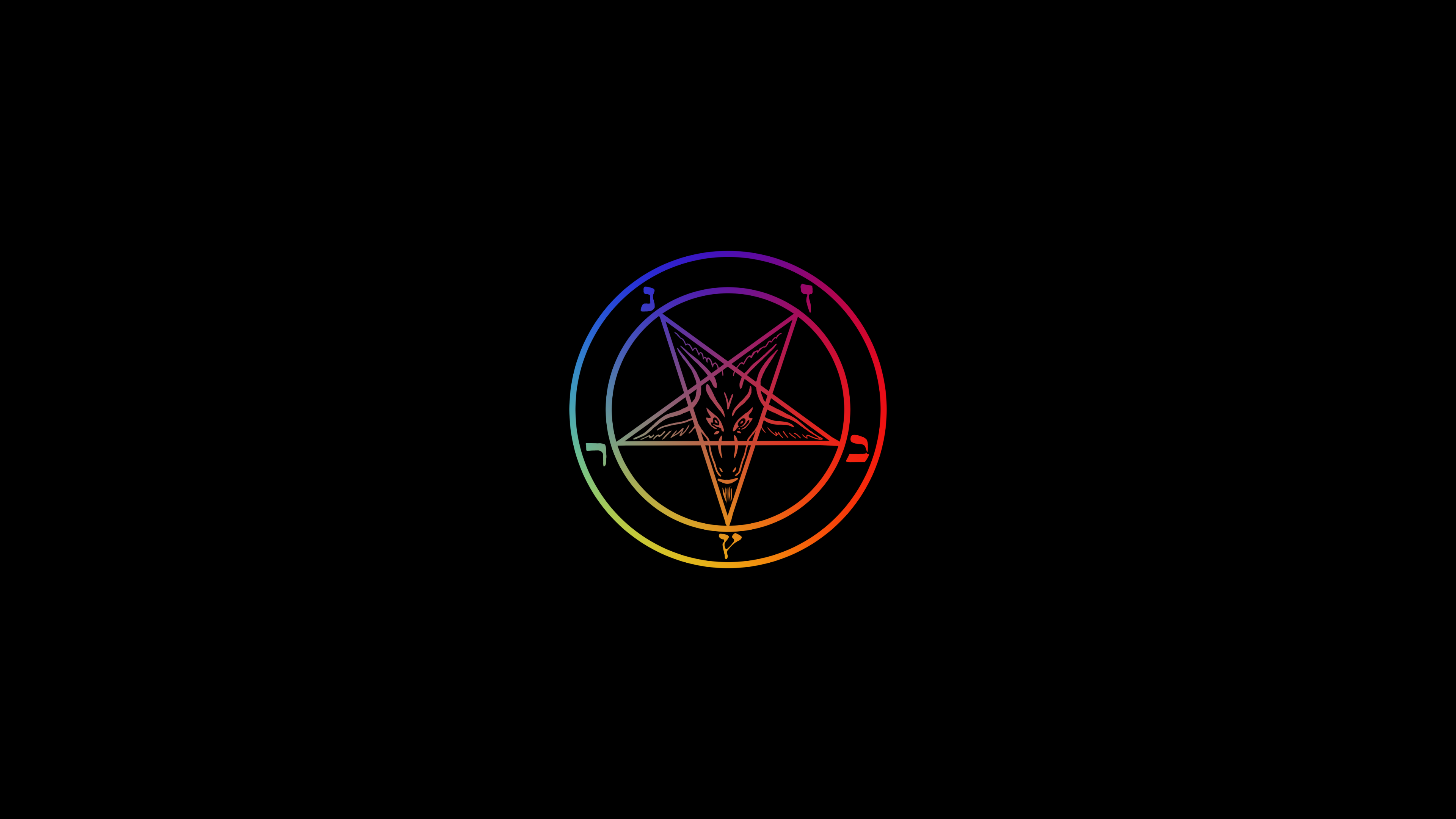 sigil of baphomet  this time its a wallpaper [4k] by varikvalefor 3840x2160
