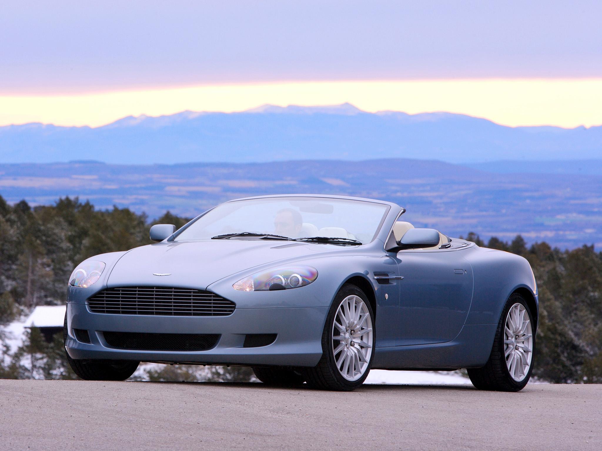 Aston Martin DB9 Volante 20042008 wallpaper 2048x1536
