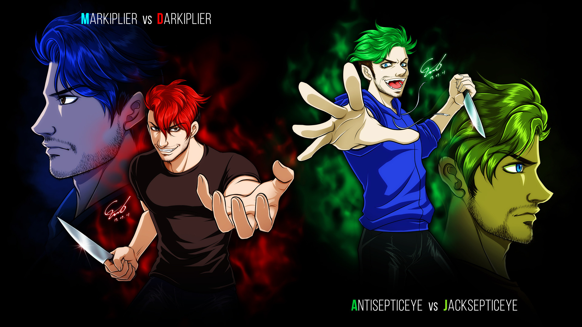 Jacksepticeye Wallpapers 72 images 1920x1080