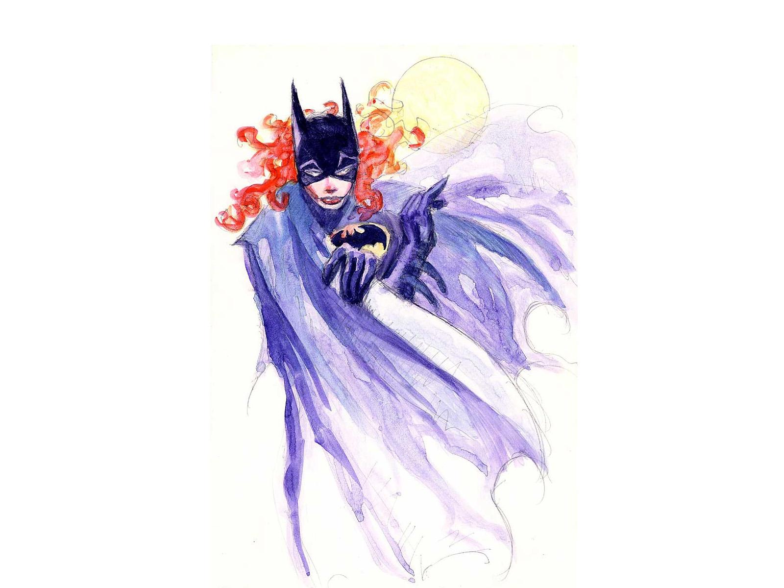 Batgirl Logo Wallpaper Comics 1600x1200