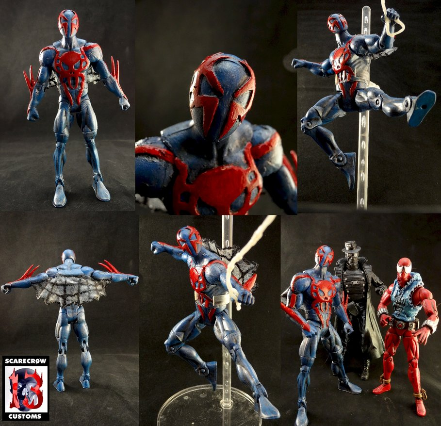 spider man 2099 custom by scarecrowstudios 909x878