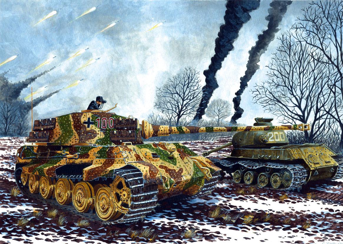 48+] King Tiger Tank Wallpaper on WallpaperSafari