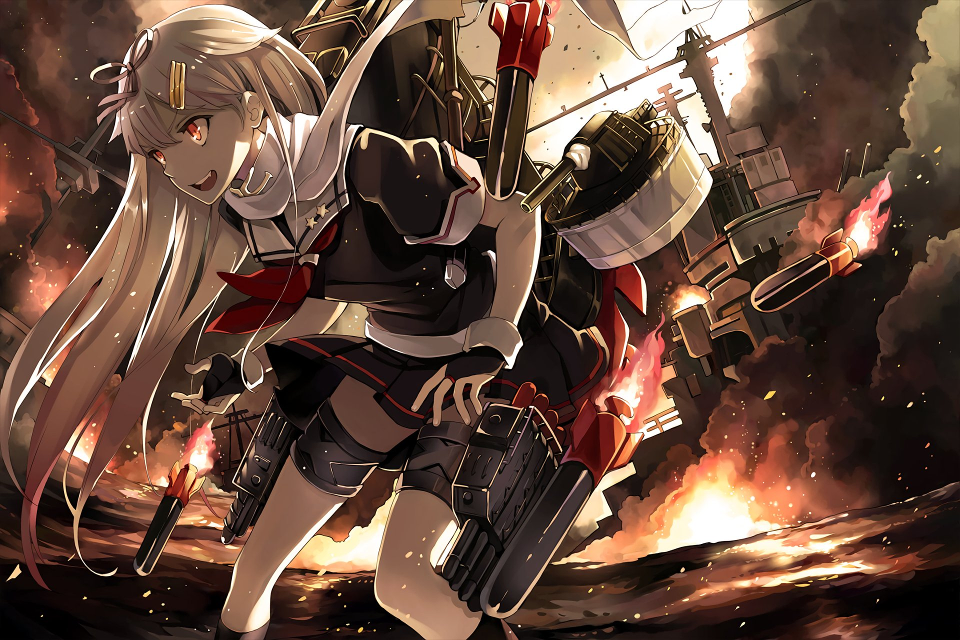 2626 Kantai Collection HD Wallpapers Background Images 1920x1280