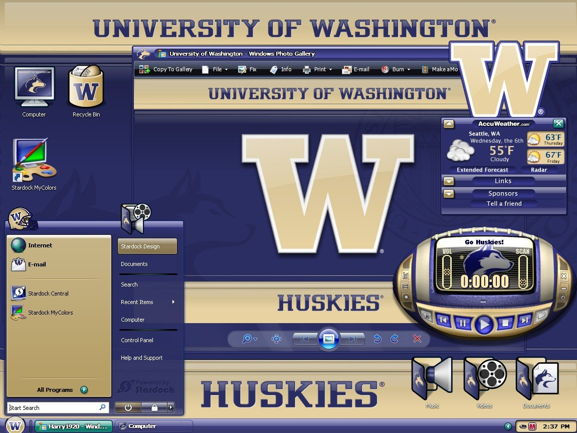 MyColors University of Washington Desktop Screenshot 3 of 4 1151x863