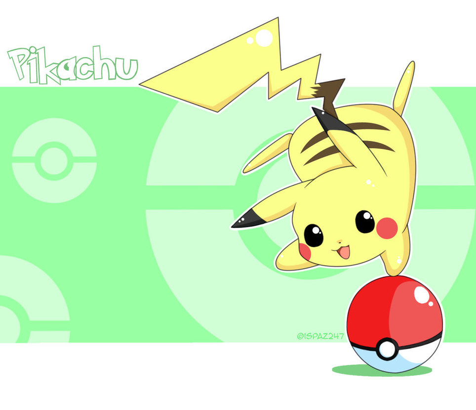 Chibi images chibi Pikachu HD wallpaper and background photos 964x829