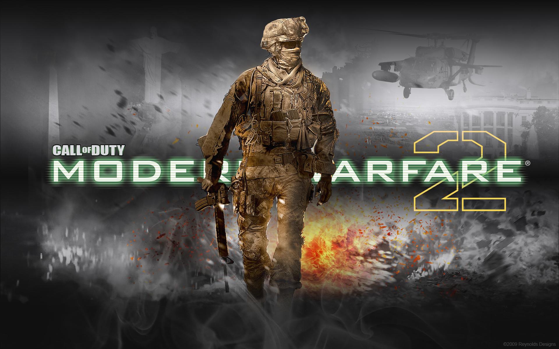 49 Modern Warfare 2 Background On Wallpapersafari