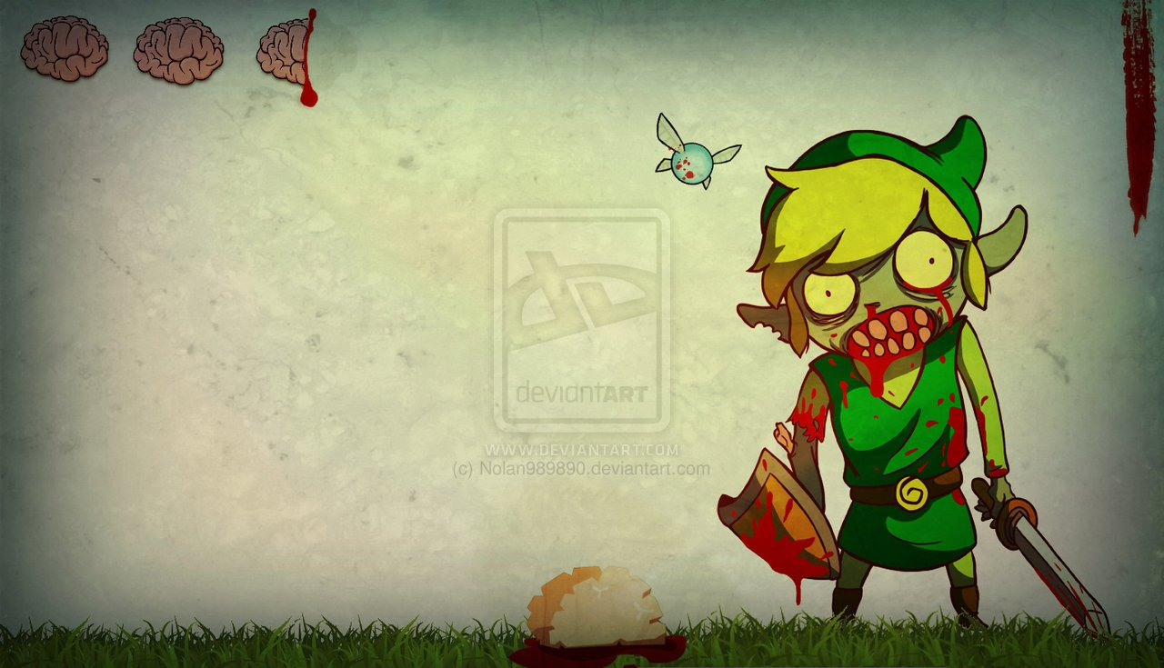 Zombie link wallpaper by Nolan989890 1280x735