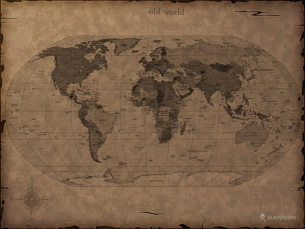 A desktop wallpaper of a map Created by Vlad Studio I have this 1024x768