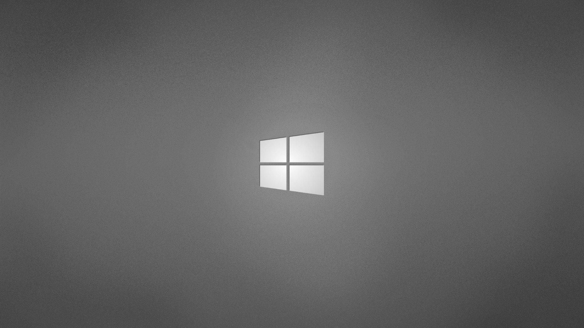 gray grey operating systems windows logo windows wallpaper background 1920x1080