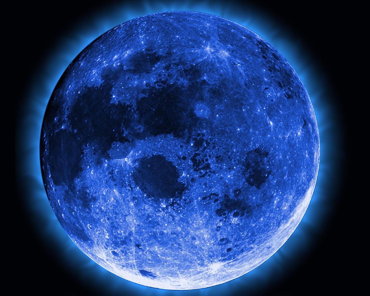 42 Blue Moon Wallpaper Hd On Wallpapersafari