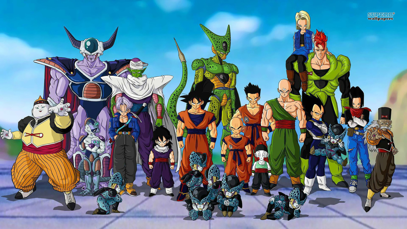 Wallpapers de Dragon ball z hd 1366x768   Identi 1366x768