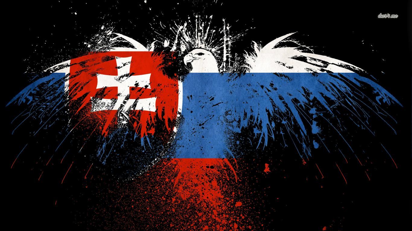 Flag of Slovakia wallpaper   Digital Art wallpapers   39636 1366x768