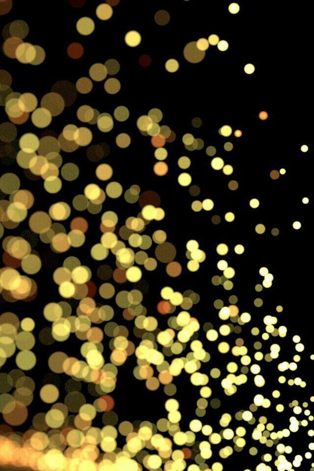 Black gold glitter iPhone Wallpapers Pinterest 640x960
