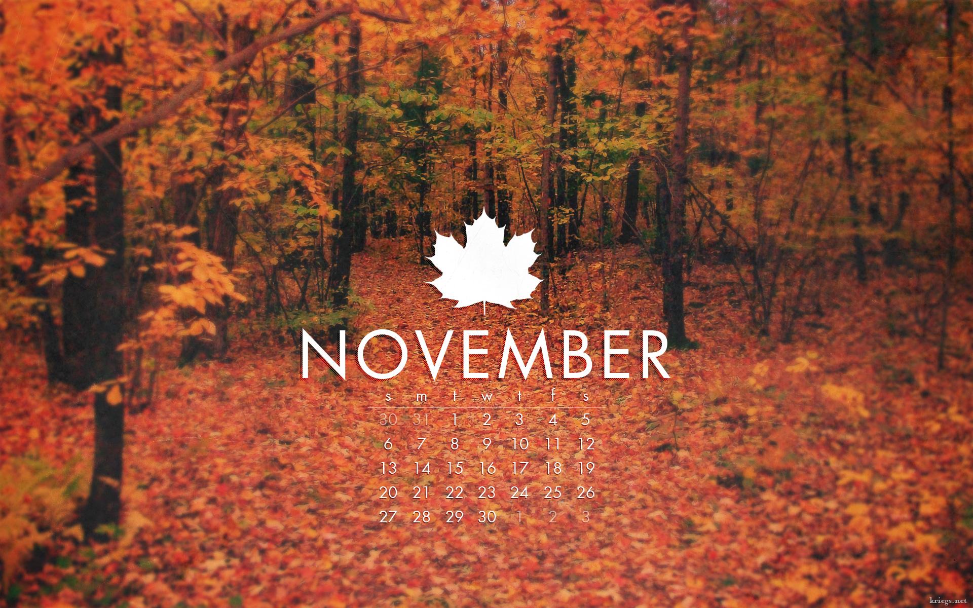 November 2011 by kriegs on DeviantArt