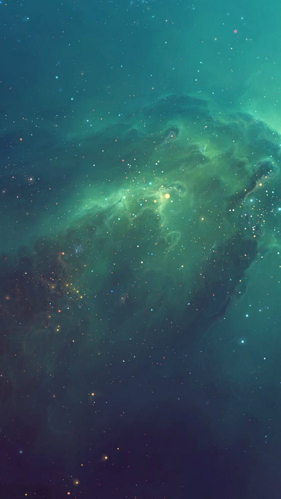 Green Starry iphone 6 wallpaper ilikewallpaper com 563x1000