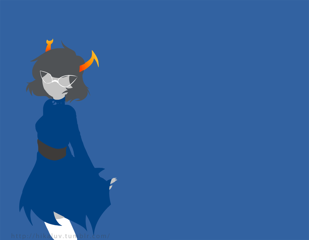 Vriska Wallpaper 1366x768 Homestuck Trolls Wallp...