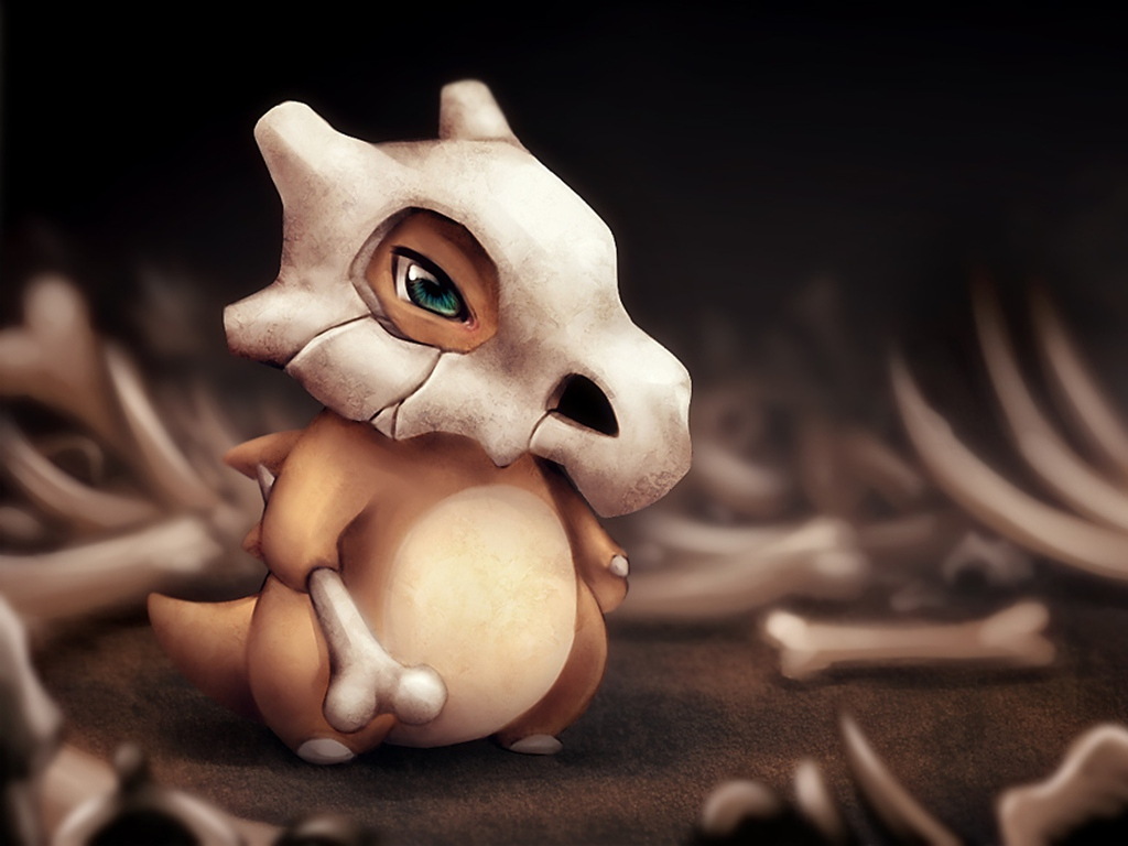 Pokemon Cubone Wallpaper 1024x768 Pokemon Cubone 1024x768