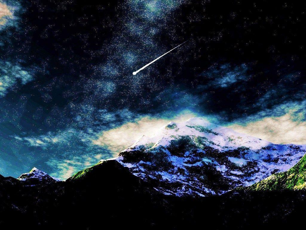 Shooting Stars Wallpapers 1024x768
