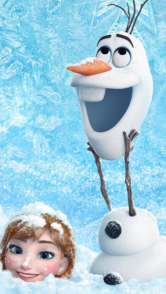 Frozen Disney 2013 Wallpaper   iPhone Wallpapers 640x1136
