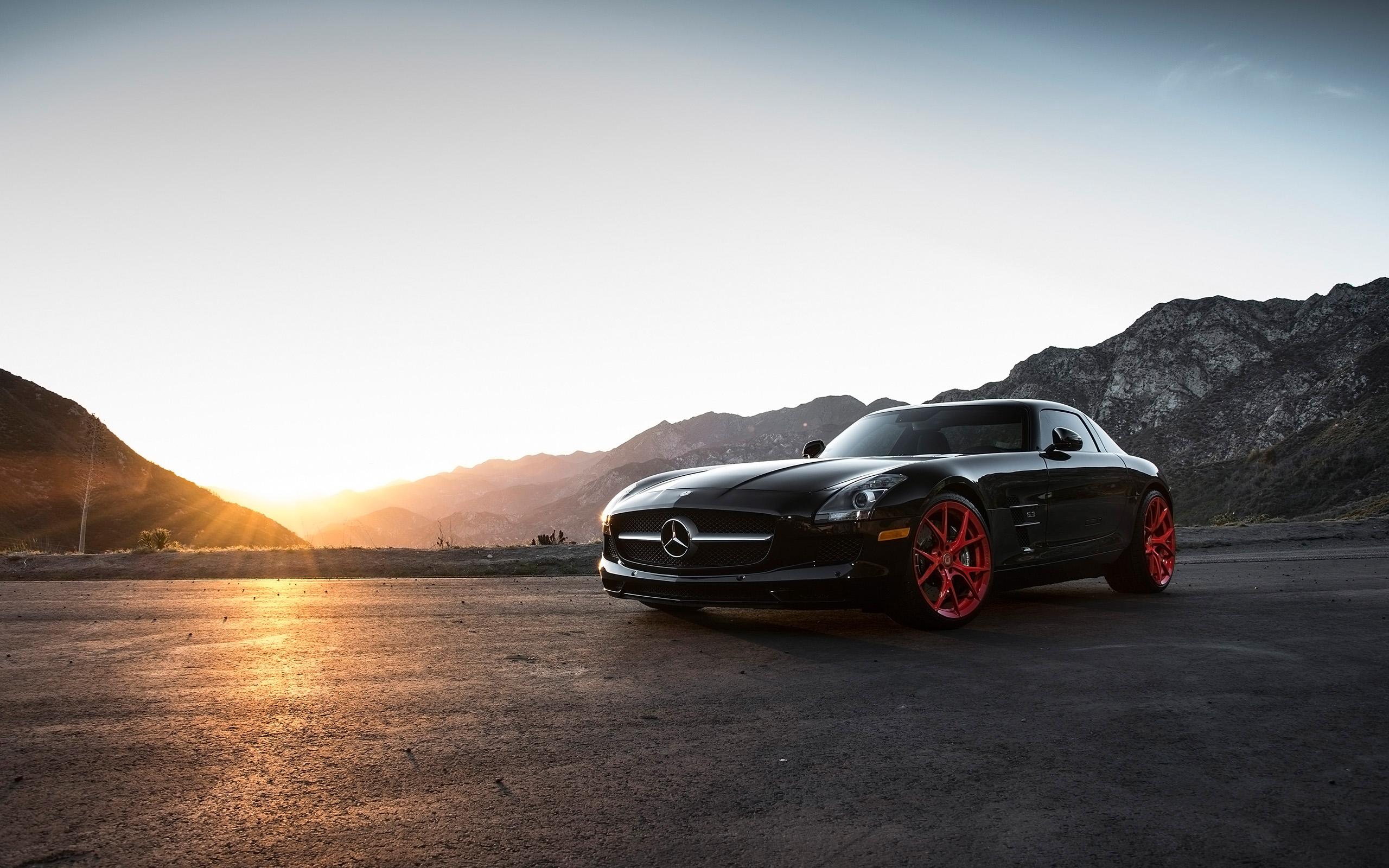 2015 Klassen Mercedes Benz SLS AMG Wallpaper HD Car 2560x1600